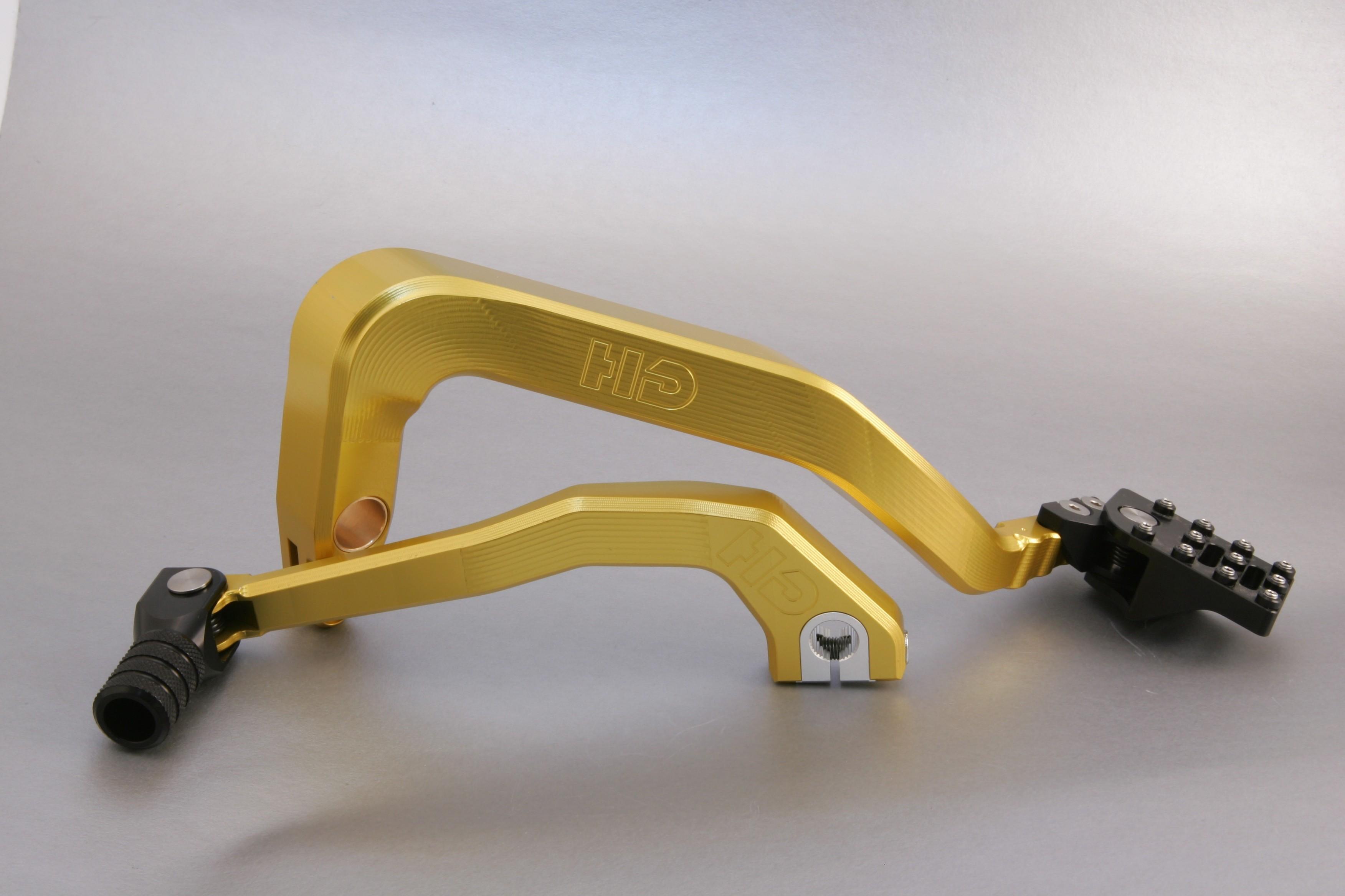 Harley Davidson GOLD Dyna Combo Kit with Titanium Pivot Pins