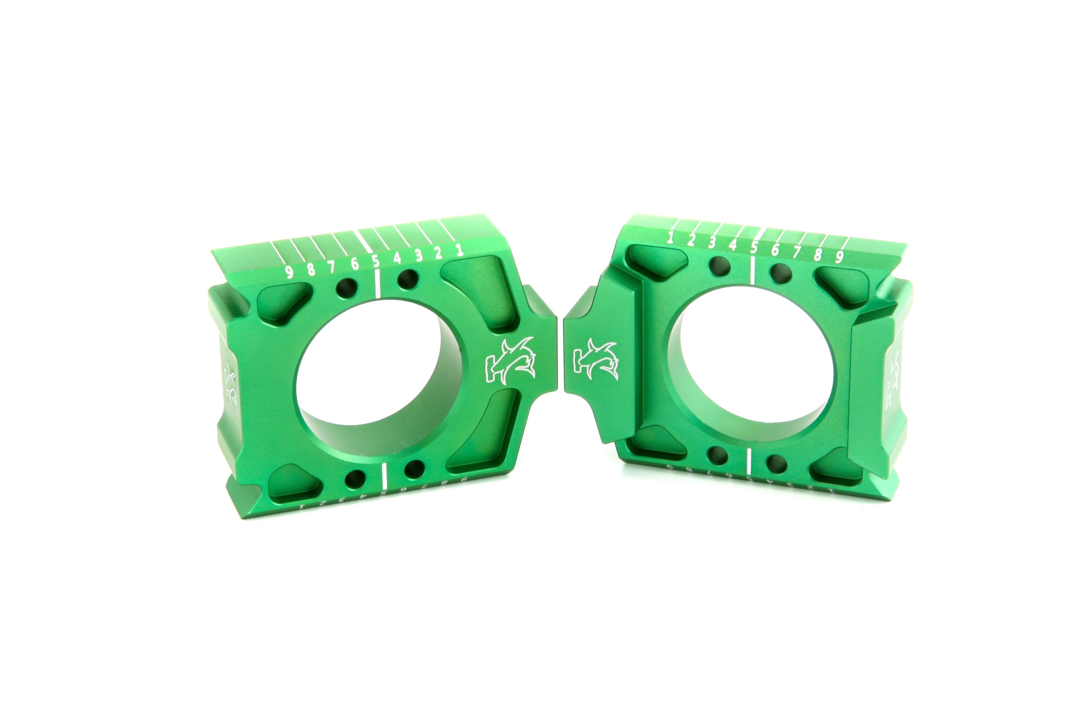 Kawasaki/Suzuki Axle Blocks