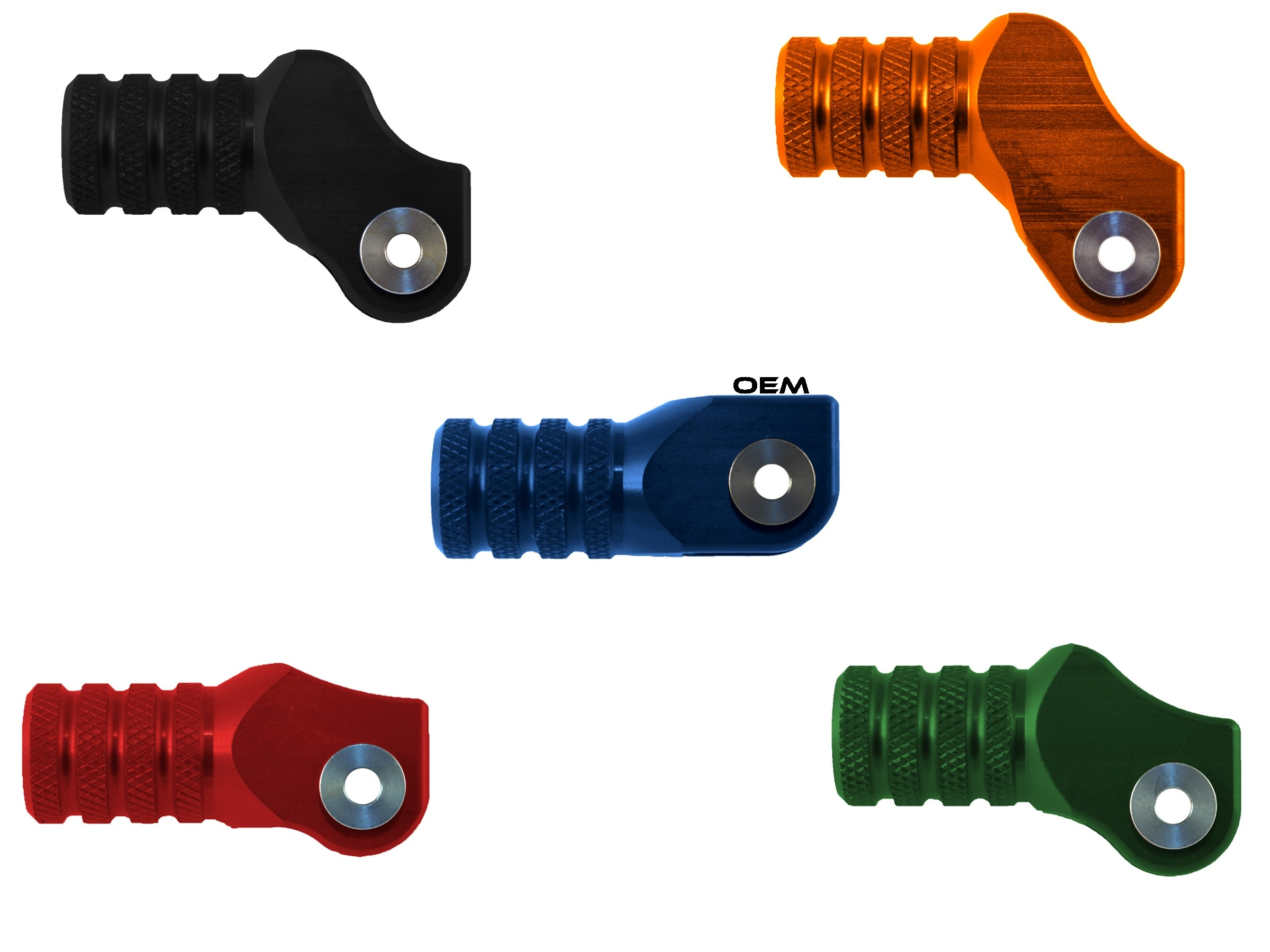 Knurled Shift Tip™ for HAMMERHEAD CNC SHIFT LEVERS ONLY