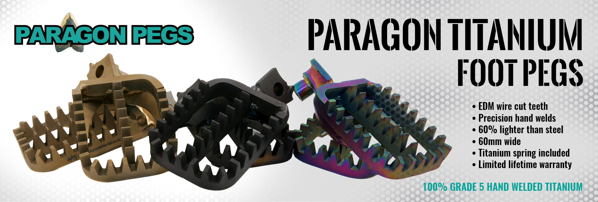 Paragon Titanium Footpegs